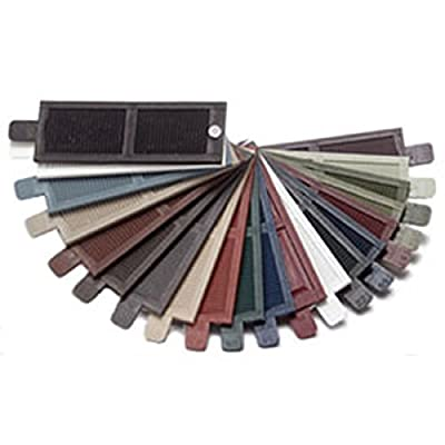 Ekena Millwork LVSAMPLECOLORS Lifetime Vinyl Shutter Sample Colors by Ekena Millwork
