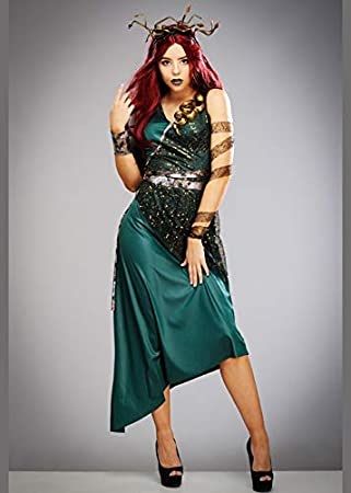 Magic Box Disfraz de Medusa Diosa Griega para Mujer Large (UK 14 ...