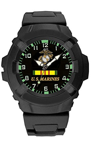 Aqua Force Marines Combat Watch with 47mm Face (Style 2)
