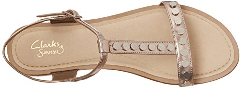 Festival Clarks Ladies Metallic Sandals Sail 41xqqAt