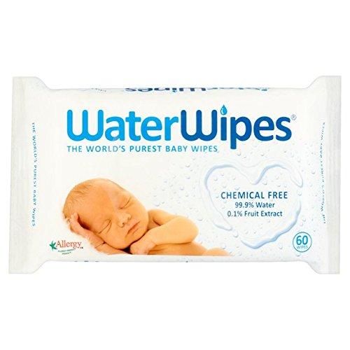 60 WaterWipes por paquete
