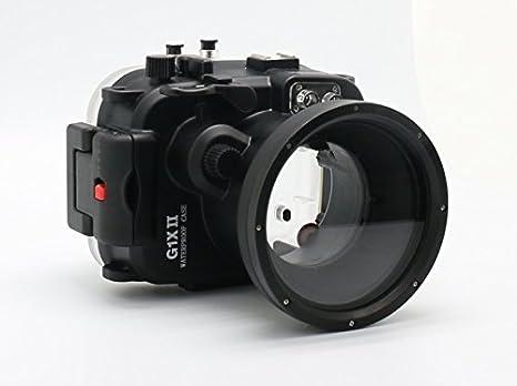 carcasa submarina para cámara Canon PowerShot G1X Mark II ...