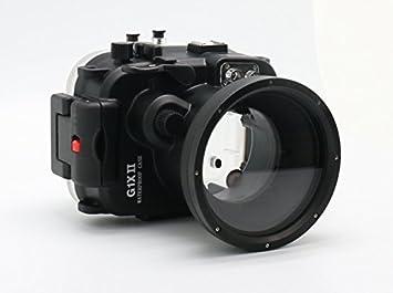 carcasa submarina para cámara Canon PowerShot G1X Mark II - Carcasa acuática para cámaras