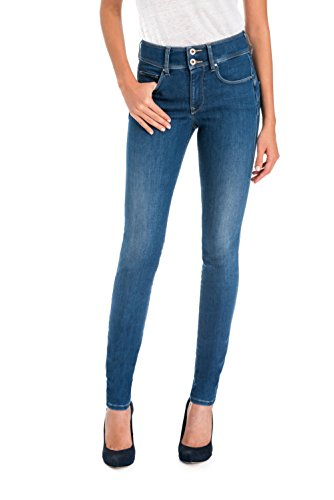 Salsa Pantalones Secret Push In Denim Coolmax Azul