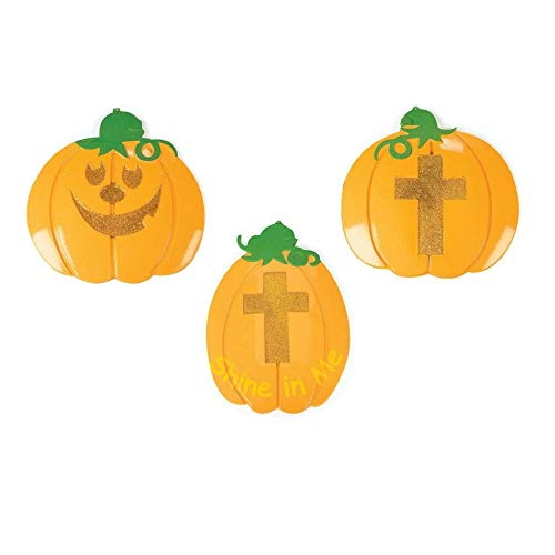 Christian Pumpkin Wall Decorations by Fun Express