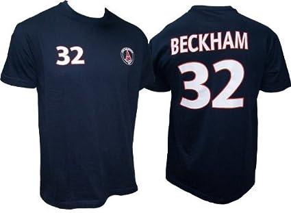 Paris Saint Germain - Camiseta de David Beckham n.° 32 (talla para adulto