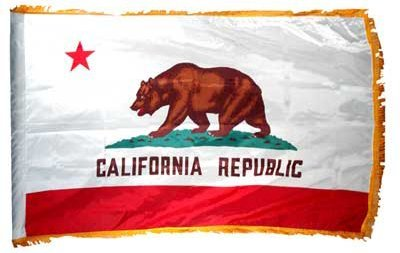 California State Flag 3x5ft Nylon with Indoor Pole Hem and F
