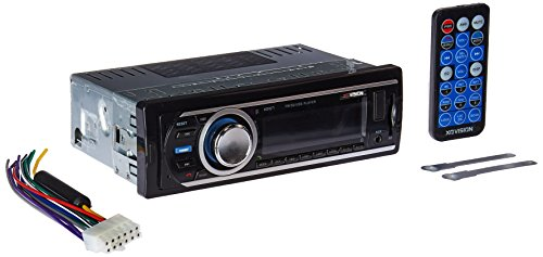 Car Stereo, XO Vision Wireless Bluetooth Car Stereo Receiver with 20 watts x 4, USB Port , SD Card Slot, and MP3 and FM [ XD107 ] (Car Stereo For Hyundai Accent)