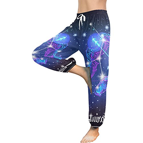 Constellation Zodiac Sign Sagittarius Women's Yoga Harem Pants