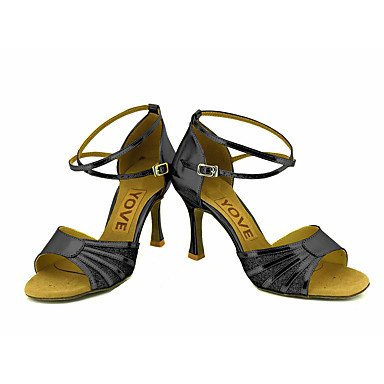 baile Salsa Plata Oro Black Personalizado Negro Zapatos Rojo Tacón Latino Azul de Personalizables pCFwaqS