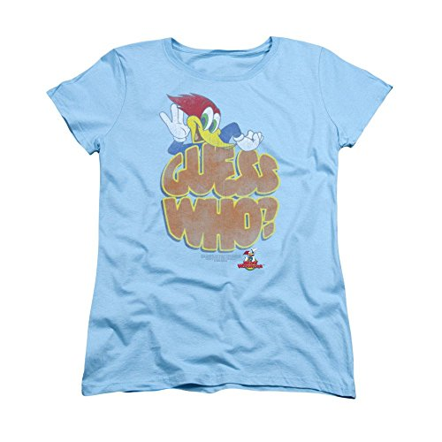 Sons of Gotham - WOODY WOODPECKER Guess Who? Women's T-Shirt