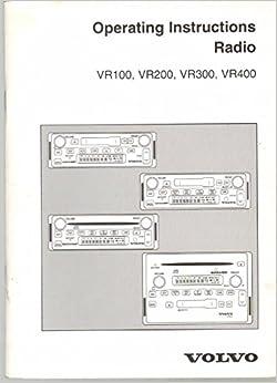 operating instructions radio vr100 vr200 vr300 vr400. Black Bedroom Furniture Sets. Home Design Ideas
