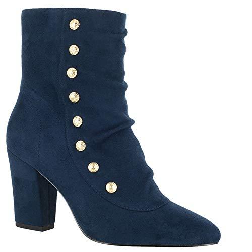 suede Boot Women's II Bella Vita Navy Gillian 0qTYFw8