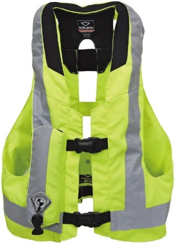 Modeka Sécurité Gilet basic Moto Gilet réfléchissant Fluo-jaune Taille 3xl