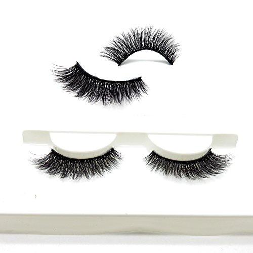 05d4348fa0e Cuckoo Lashes 100% Handmade 3D Faux Mink Lashes Individual Korean Silk  False Eyelashes 3 Pairs
