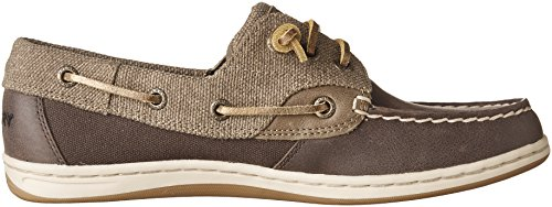 Sperry Womens, Songfish Slip On Boat Shoe Marrone Scuro