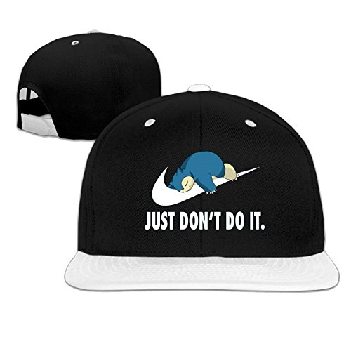 Terminator Outfit (Baseball cap hip hop hat JUST Don't Do IT cap White (5 colors))