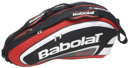 Team 6 Pack Red Tennis Racquet Holder