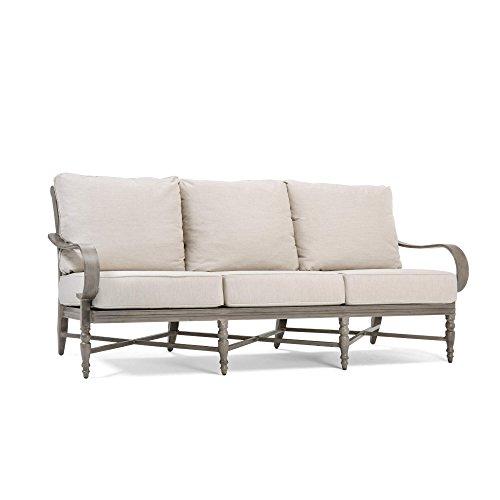 Blue Oak Outdoor Saylor Patio Furniture Sofa with Outdura Remy Sand Cushion ()