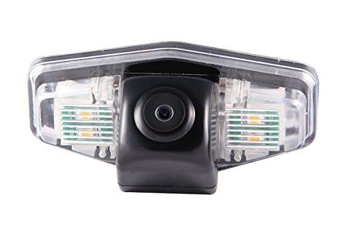 Gazer CASNB-L License Plate Light Mount for Car Rear-View Backup Camera: Honda Accord/Honda Civic 4D ()