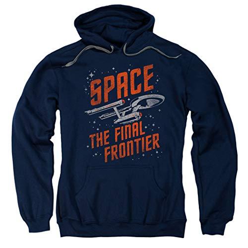 Star Trek Space The Final Frontier Pullover Hoodie