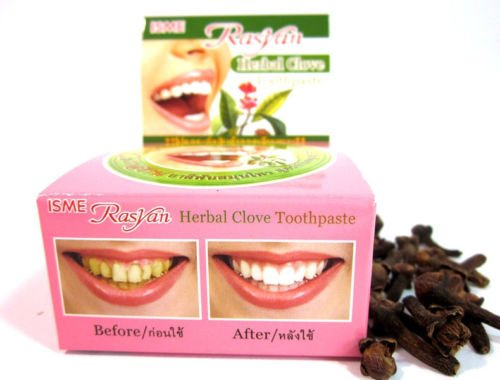 25g ISME RASYAN HERBAL CLOVE TOOTHPASTE WHITENING TEETH ANTI - Al Mall Shopping Mobile