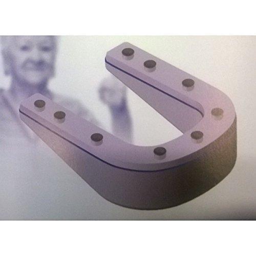blanc Comfort Seat CMS-EVA-/R/éhausseur pour WC et bidet ergonomique