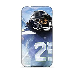 Top Quality Case Cover For Galaxy S5 Case With Nice Richard Sherman Seattle Seahawks Player Appearance