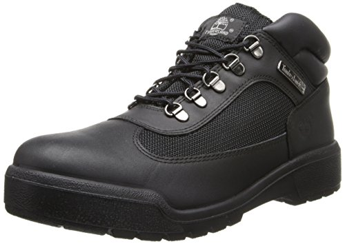 Timberland Men's Icon Field Boot,Black,10.5 M US (Icon Leather Boot)