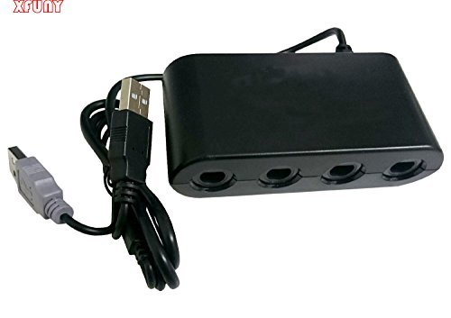 XFUNY(TM) GameCube Controller Adapter for Wii U