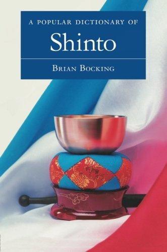 A Popular Dictionary Of Shinto  Popular Dictionaries Of Religion