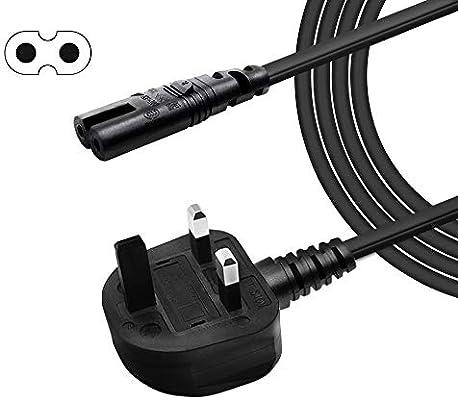 XINYUWIN Cable de alimentación de 2 pines para Samsung LG Toshiba Philips Insignia Sharp Panasonic LED Flat TV Sky Box, Sky Plus + HD Box y más: Amazon.es: Instrumentos musicales