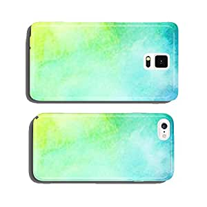 Abstract colorful bright watercolor background cell phone cover case iPhone5