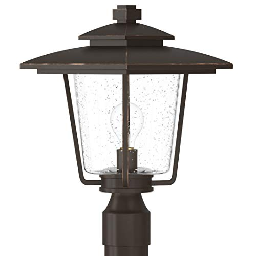 Miseno MLEL1303ORB Anchorage 16'' Tall Single Light Outdoor Post Light by Miseno (Image #3)