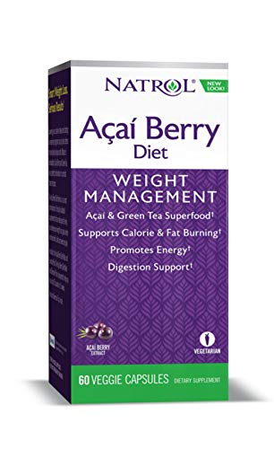 Natrol AcaiBerry Diet, 60 Capsules (Pack of (Acai Berry Diet)