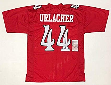 info for fcc7c 2b5c8 Brian Urlacher Autographed Jersey - COLLEGE w WITNESSED COA ...