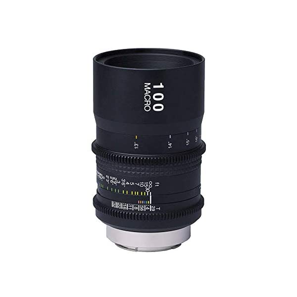 RetinaPix Tokina Cinema 100mm AT-X Macro T2.9 Fixed Prime for Canon EF Mount Cameras