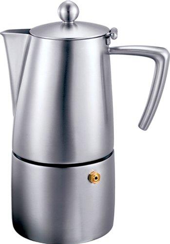 Cuisinox Stainless Steel Milano 6 cup Espresso Coffeemaker (Ivory Coffee Maker)