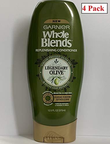 Garnier Whole Blends Replenishing Conditioner Legendary Olive, Dry Hair,  4 -