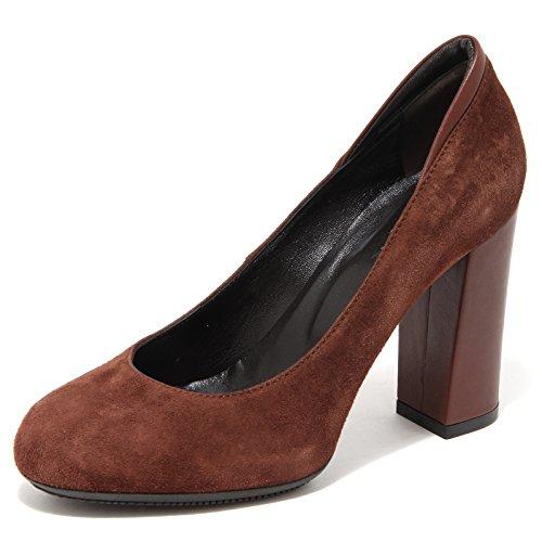 women donna Marrone scarpa HOGAN 34477 decollete shoes XqzAZf