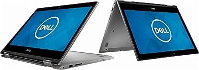 """2018 Dell 2-in-1 13.3"""" FHD TouchScreen High Performance Business Laptop, AMD Ryzen 7 2700U 2.2GHz, AMD Radeon RX Vega 10, 12GB DDR4, 256GB SSD, Webcam, Backlit Keyboard, HDMI, Windows 10, Era Gray"""