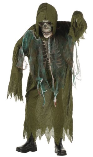 RG Costumes Swamp Creature Costume, Green, Small (Scary Halloween Costumes Boys)