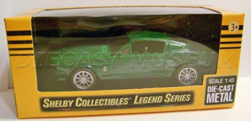 SHELBY-COLLECTIBLES. 1967 '67 Shelby GT500 Mustang Green Legend Series DIECAST ()