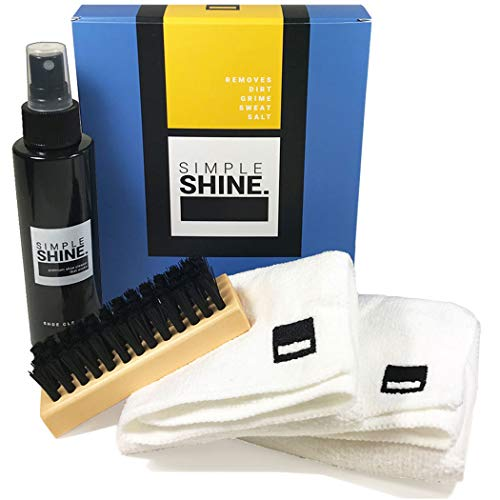 Premium Shoe Cleaning Kit for Sneakers, Canvas Boots and More - Cleaner Nylon Brush and Microfiber Cloths