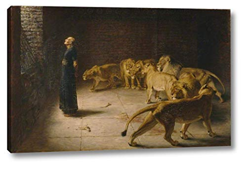 Daniel's Answer to The King by Briton Riviere - 12