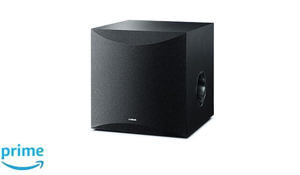 Yamaha Ks-Sw100 - Altavoz subgrave, 291 x 292 x 341 mm, color negro: Amazon.es: Instrumentos musicales