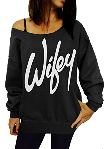 [Women Womens Letter Print Loose Sweatshirt Casual Pullover Top] (Vinyl Cat Hood)