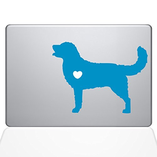 The Decal Guru Decal I Love [並行輸入品] My Decal Golden Retriever Decal Vinyl Sticker 15 MacBook Pro (2016 & Newer Models) Light Blue (1483-MAC-15X-LB) [並行輸入品] B0788D1BNR, せんべい造り百年 幸煎餅:74ef8e26 --- krianta.ru
