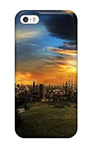 Excellent Iphone 5/5s Case Tpu Cover Back Skin Protector The City Of A Thousand Minarets