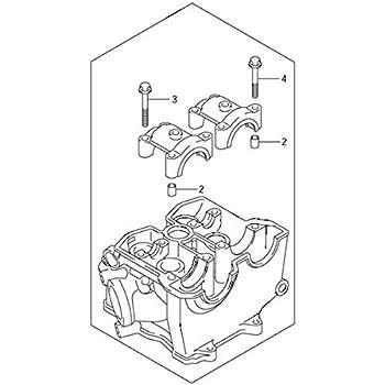 Amazon Com Suzuki Rmz250 Rmz 250 Rm Z250 Cylinder Head K1100 80080